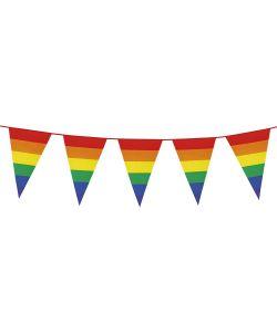 Vimpelguirlande regnbue, stor