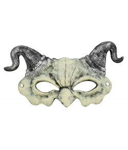 Djævel maske med horn
