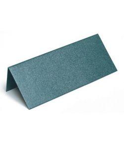 Bordkort metallic mørkegrøn