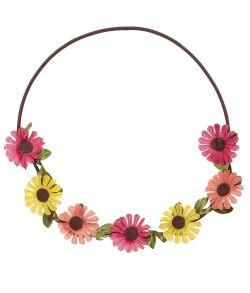 Blomster pandebånd