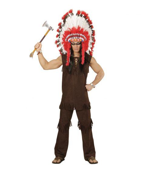 Flot Indianer kostume til voksne - Fest & Farver