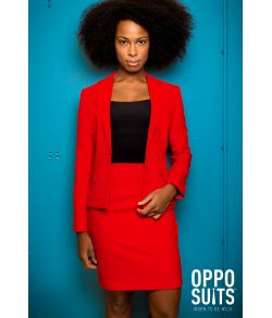OppoSuit Miss Red
