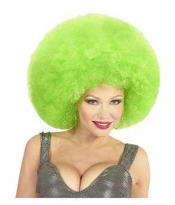 Grøn afroparyk, stor