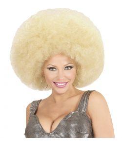 Blond afroparyk, stor