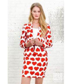 OppoSuit Queen of Hearts