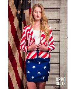 OppoSuit Miss American Woman
