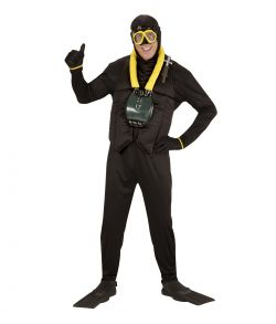 Dykker kostume
