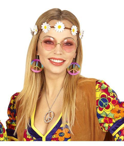 Hippie udklædningssæt