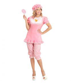 Baby kostume, lyserødt