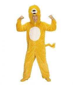 Løve kostume, gult