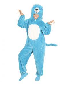 Løve kostume, blåt