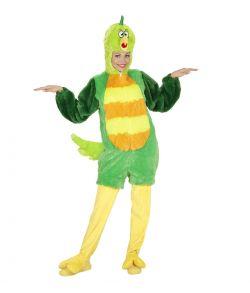 Fugle kostume, grønt