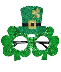 St Patrick briller med hat