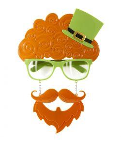 St Paticks briller med skæg