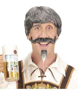 Bavarian paryk og skæg