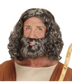 Hellig mand paryk og skæg