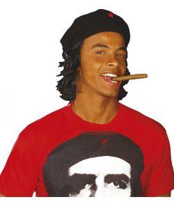 Guevara baret med hår