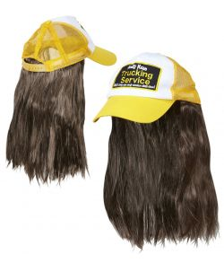 Truckerkasket med hår