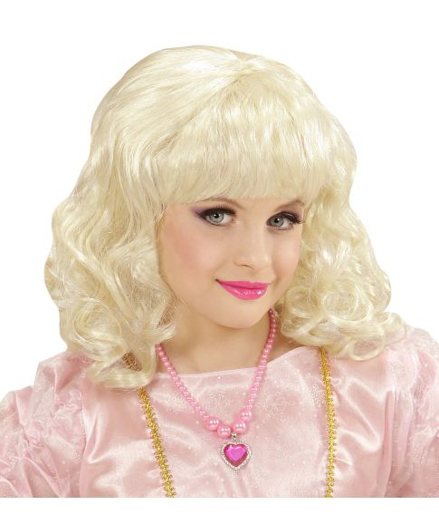 Blond Prinsesse paryk, barn