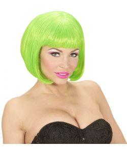 Neongrøn pageparyk