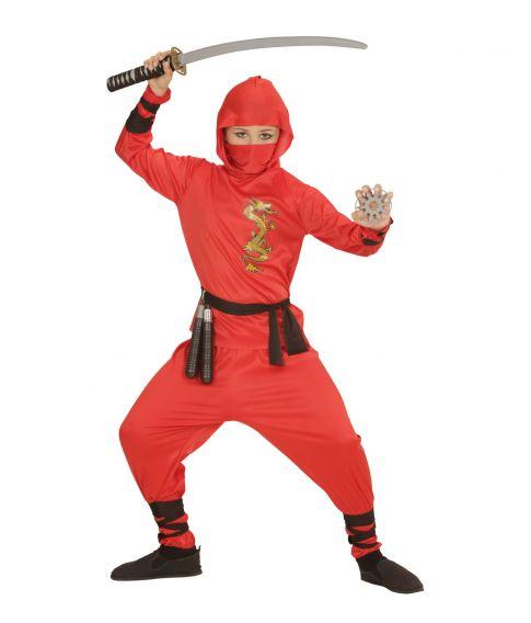 Red Dragon Ninja kostume