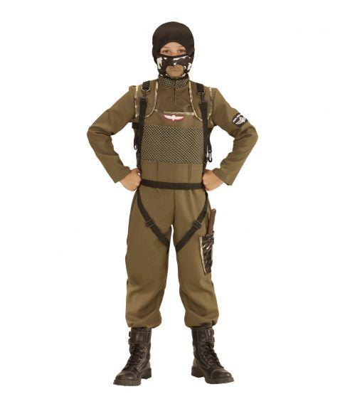 Faldskærms soldat kostume