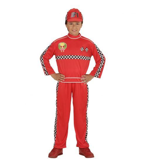 F1 racerkører kostume til drenge - Fest & Farver