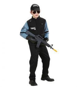 SWAT politi kostume