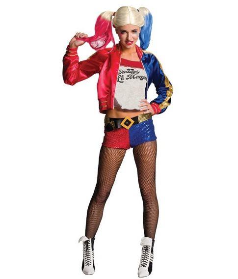 Harley Quinn kostume til voksne.