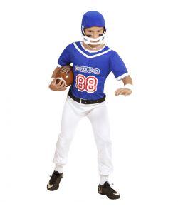 Amerikansk Football spiller kostume