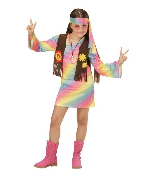 Hippie pige kostume