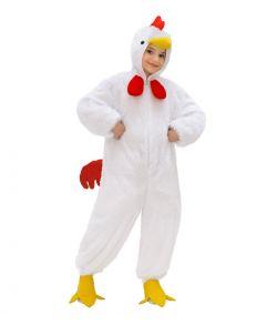 Kyllinge kostume, hvid
