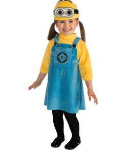 Lille Minions pige kostume