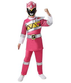 Pink Power Ranger Dino Charge kostume