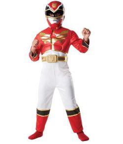 Rød Power Ranger kostume - Mega Force