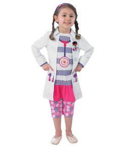 Doc McStuffins kostume, hvid