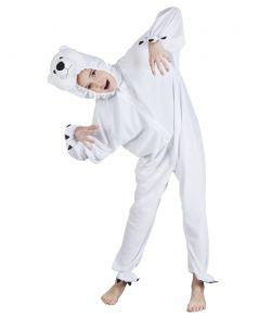 Isbjørn kostume