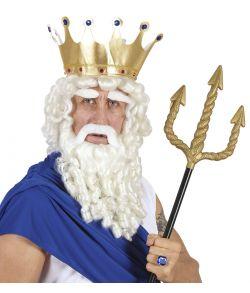 Olympisk Gud paryk, skæg og bryn