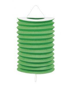 Grønne papirlamper 12 stk