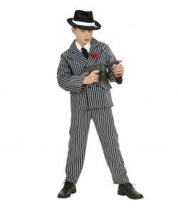 Gangster kostume til drenge