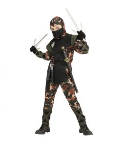 Ninja kostume til børn