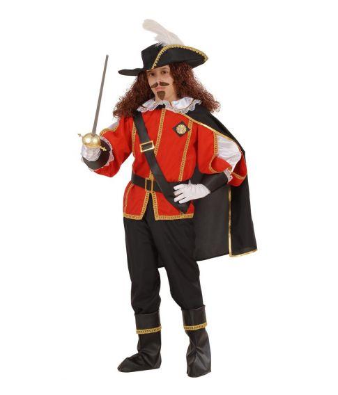 Musketer kostume til børn