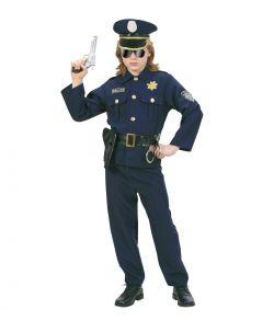 Politi kostume til børn