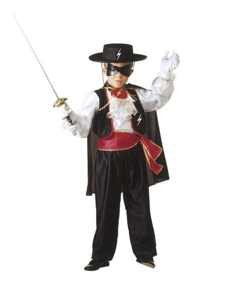 Zorro kostume til børn
