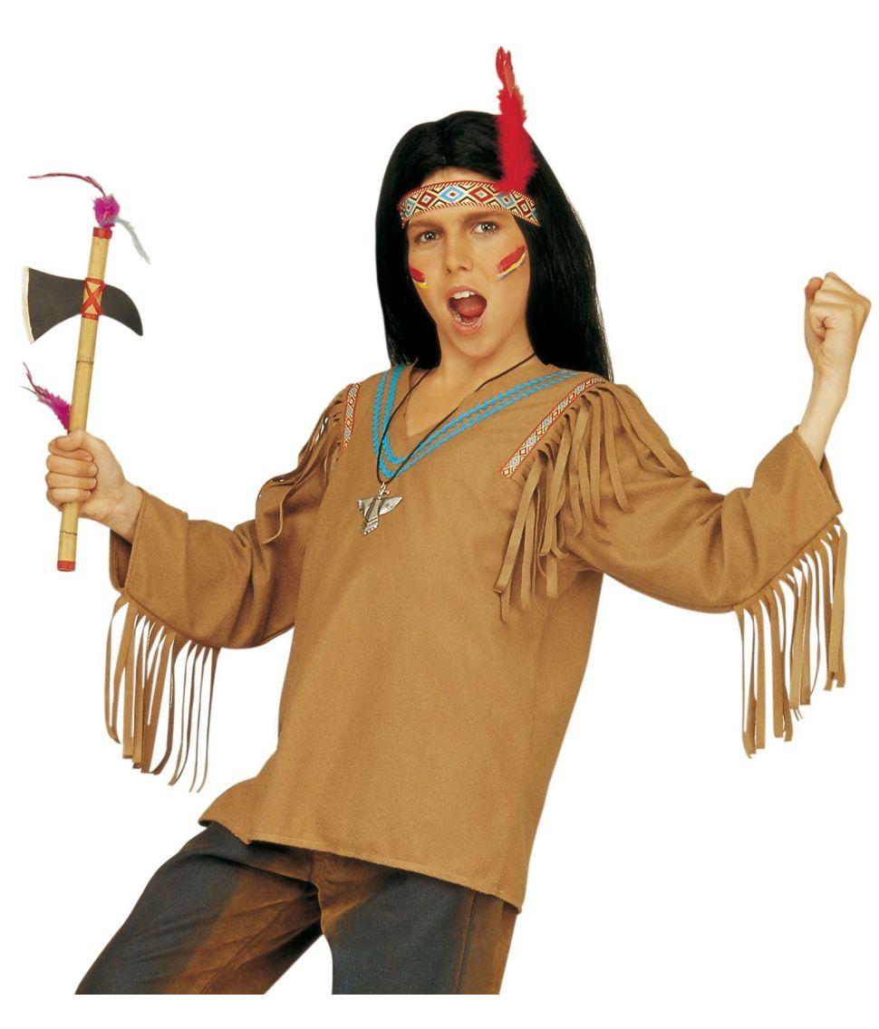 Indianer kostume til børn - Fest & Farver
