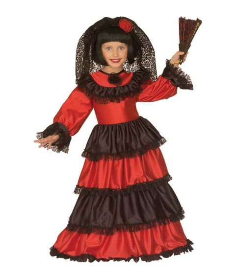 Senorita kostume til børn