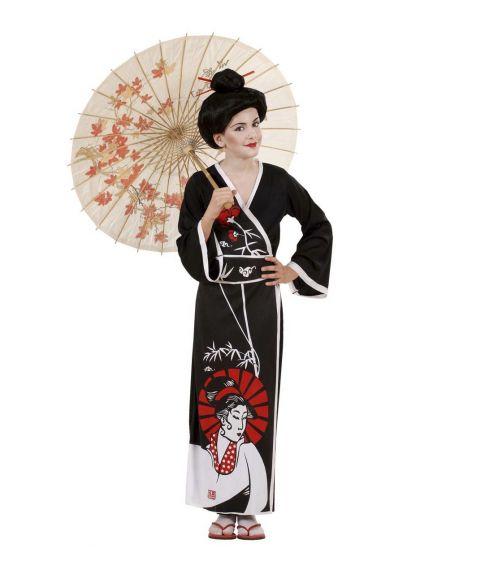 Geisha kostume til børn
