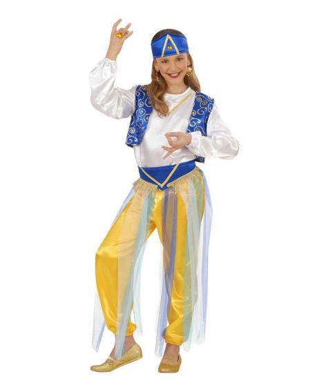 Arabisk prinsesse kostume til børn