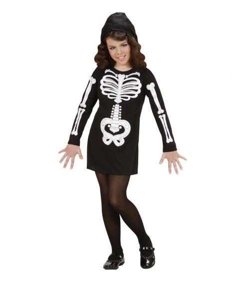 Glam Skeleton Girl