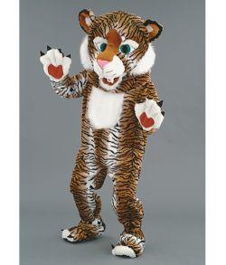 Tiger kostume, luxus mascot